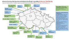 Csehország március 16-án lezárta a határait