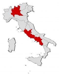 Kijárási tilalom Olaszországban – nyomtatvány kell a sofőröknek