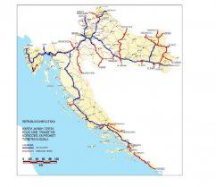 Csak a kijelölt utakon lehet tranzitban átmenni Horvátországon